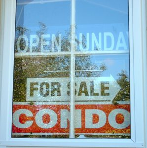 Association rules vary regarding the display of for sale or open house signs. Check the conods docs.